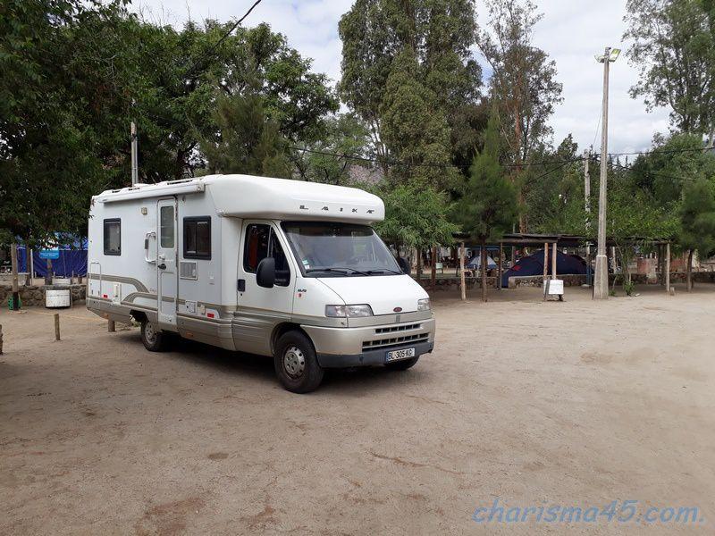 Quebrada de las Conchas (Argentine en camping-car)