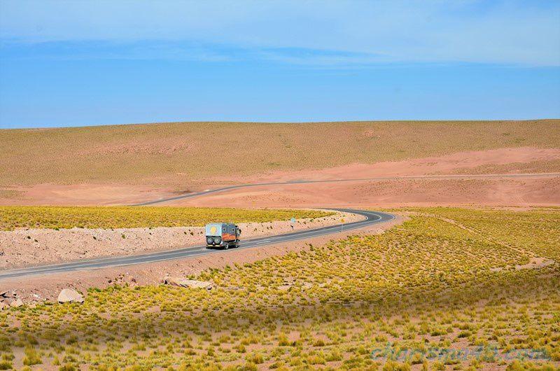 Désert d'Atacama (Chili en camping-car)