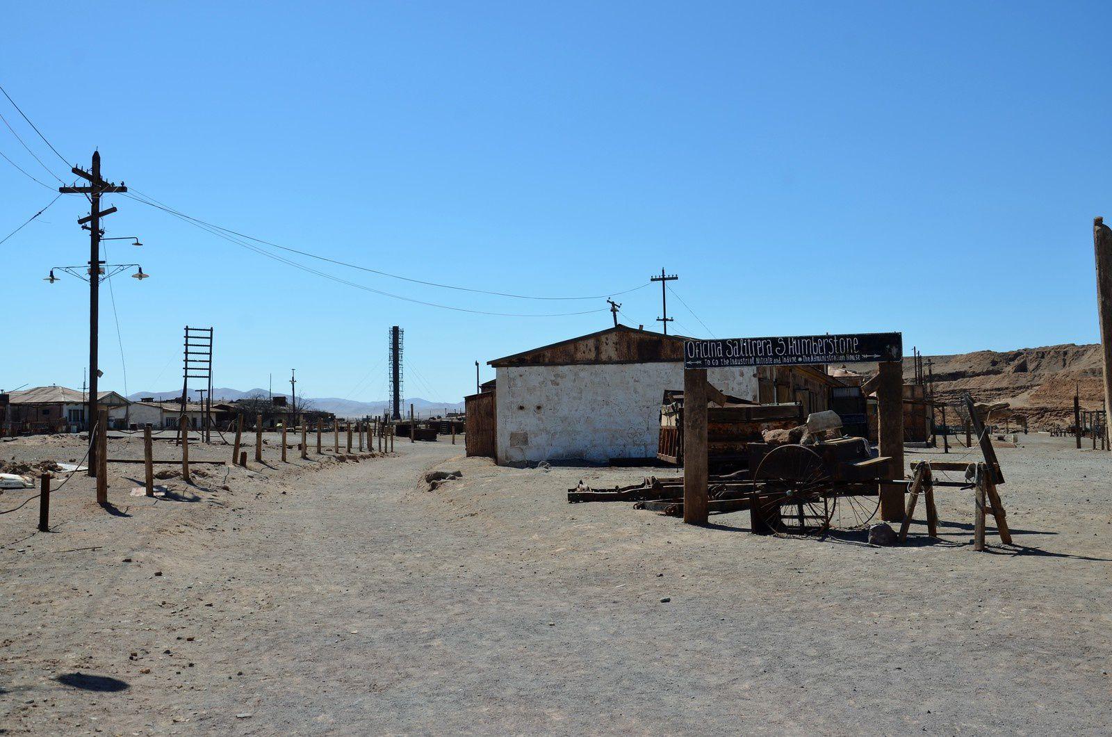 Humberstone (Chili en camping-car)