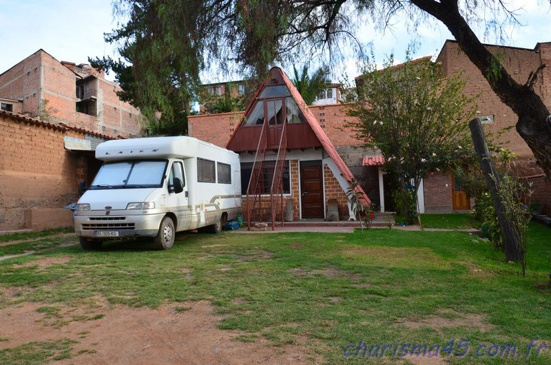 Camping Sucre Bolivie (Bolivie en camping-car)
