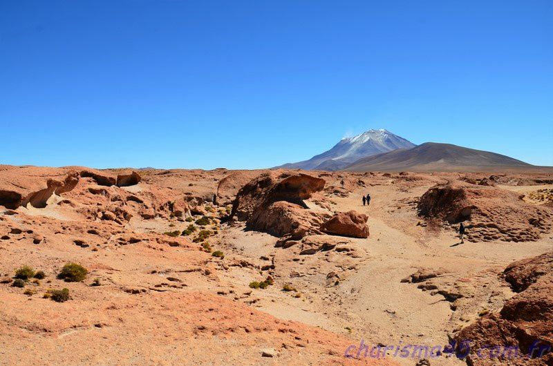Volcan Ollaguë (Bolivie en camping-car)
