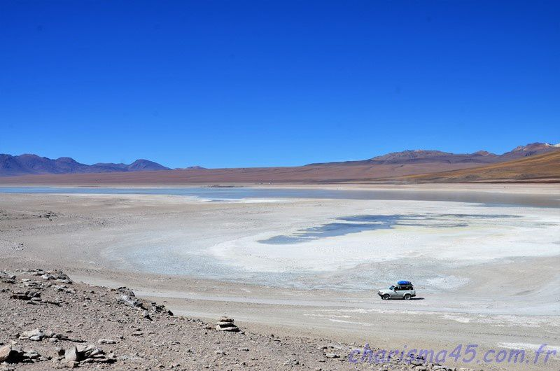 Parc Eduardo Avaroa, le Licancabur (Bolivie en camping-car)