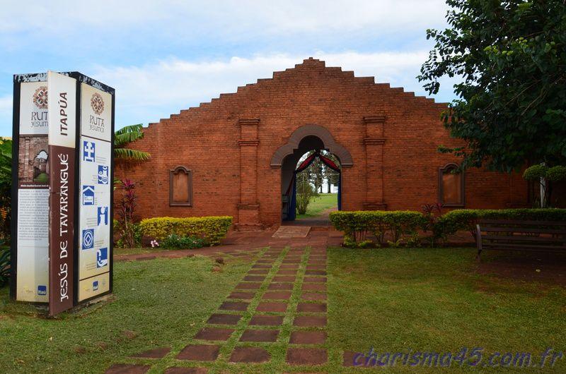 Mission jésuite de Jésus de Taravangué (Paraguay en camping-car)