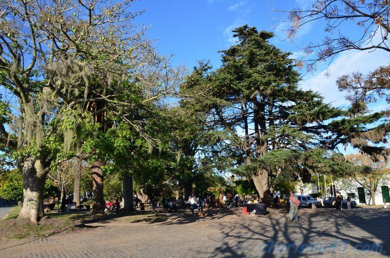 Colonia del Sacramento (Uruguay en camping-car)