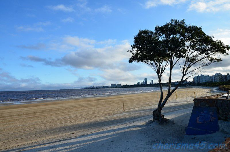 Playa Carasco (Uruguay en camping-car)