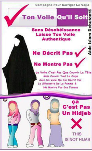 Non aux hijab &quot&#x3B;fashion&quot&#x3B;