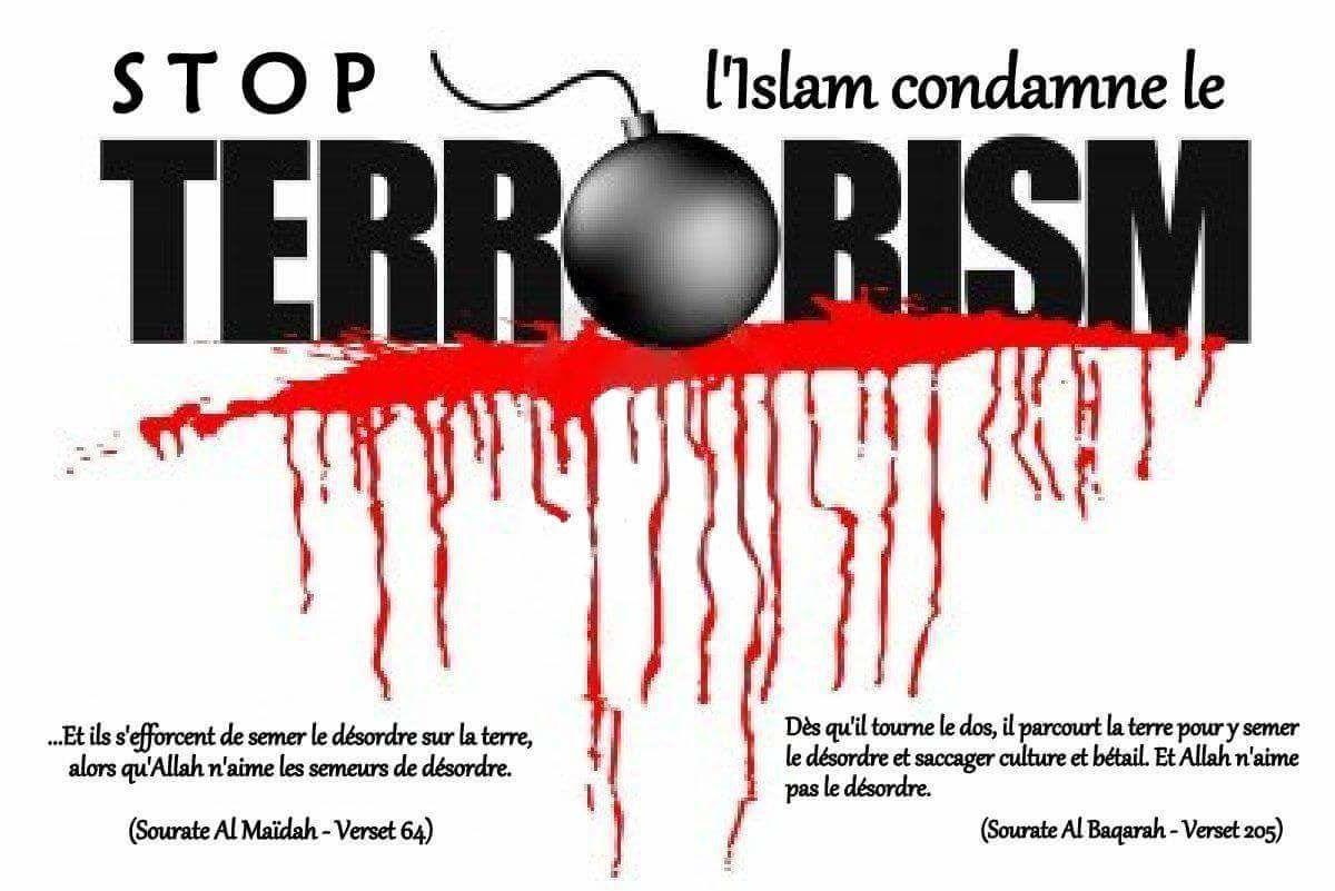 Stop Islam condamne le Terrorisme