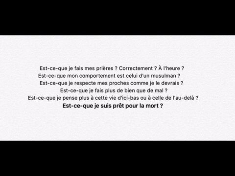 Pose-toi ses questions
