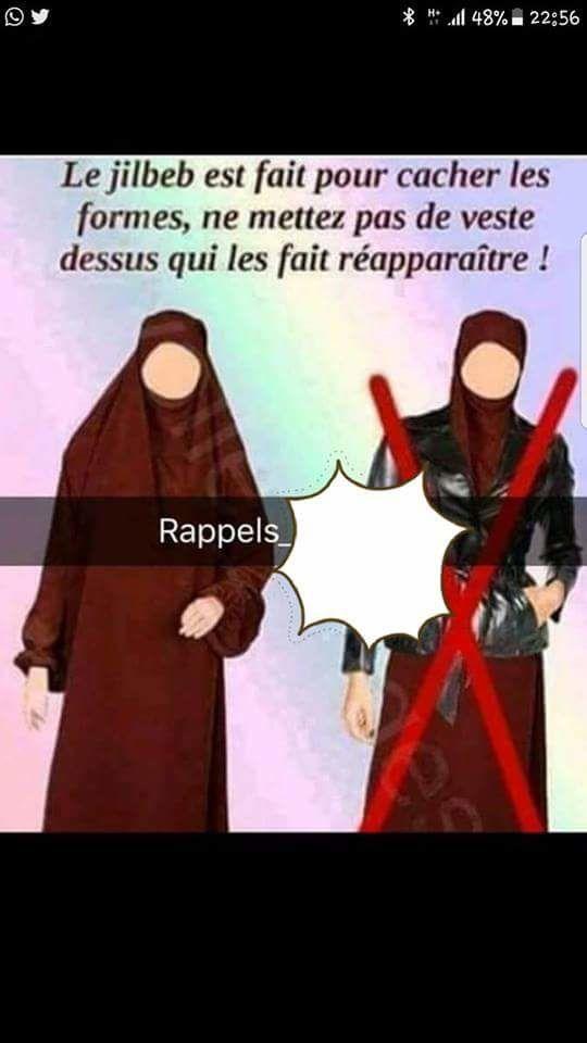 Mettre une veste sur le hijab