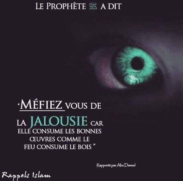 Méfiez-vous de la Jalousie - Salafidunord