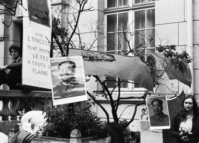 La fascination pour le Maoïsme à la Sorbonne, en mai 1968.