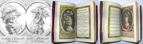 Coiffure à la nouvelle Charlotte - Coiffure de la Beauté de St James – Coiffure à l'Insurgente - Bonnet à la candeur.