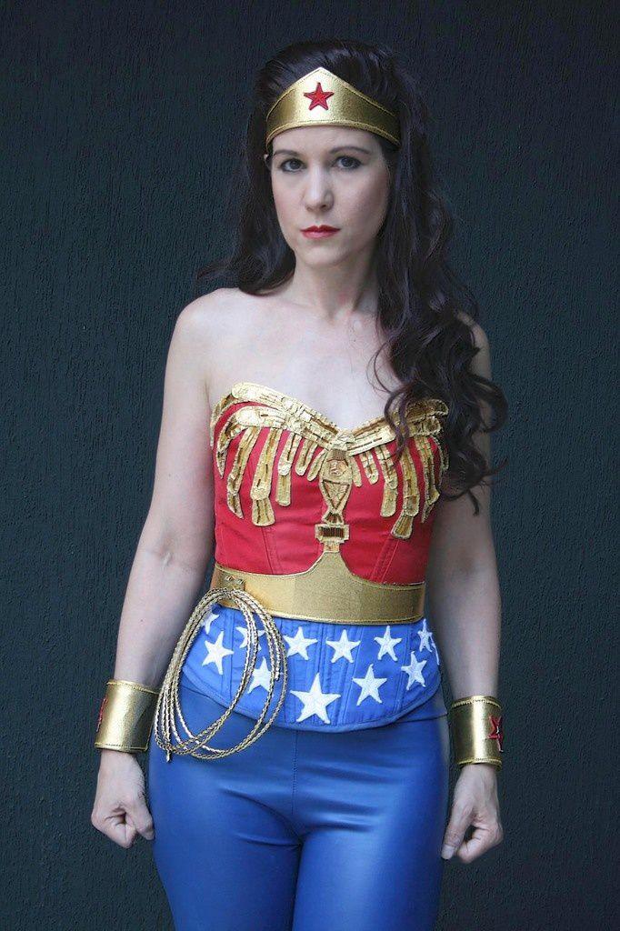 Le costume de Wonder woman
