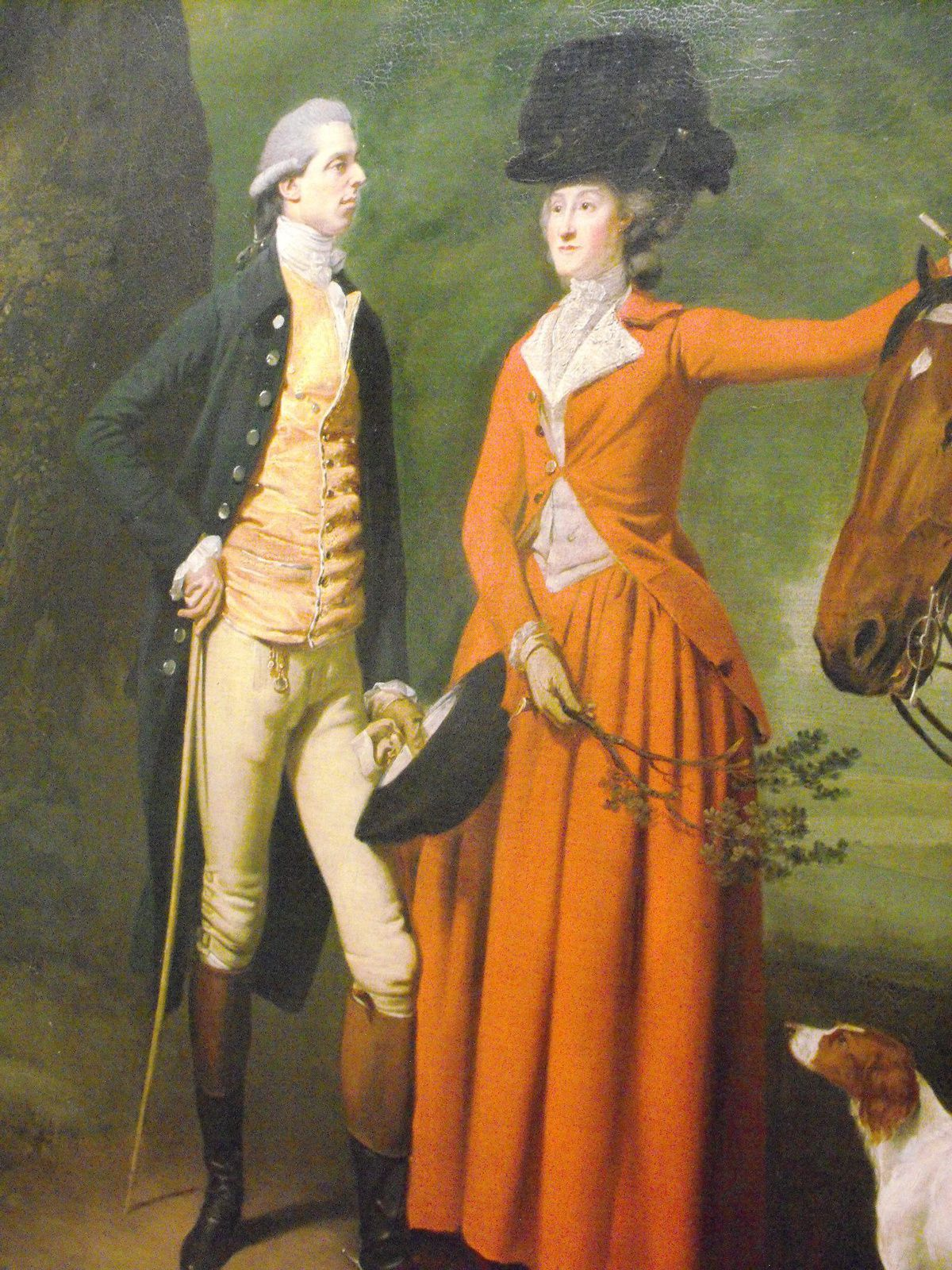 Double Portrait of Henry and Mary Styleman by Johann Zoffany, 1780 - 1783