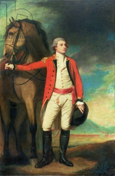 Portrait of Major-General James Hartley, In Captain's Uniform Of the Bombay Army (oil on canvas)