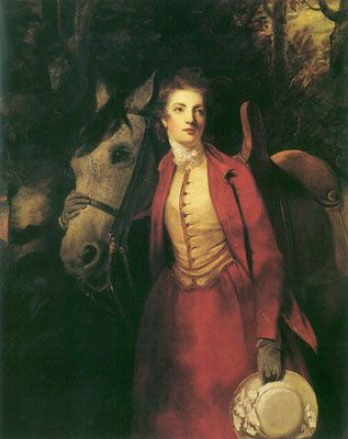 Lady Charles Spencer by Joshua Reynolds and published in London in 1776.
