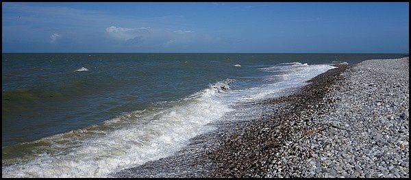Normandie, Pays de Caux : Veulettes sur Mer