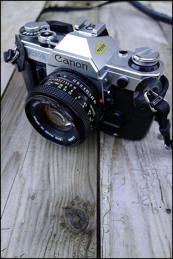 Photographie : Canon AE1