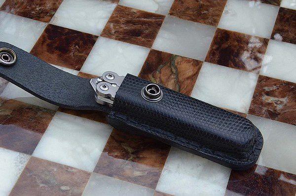 Couteau Trèfle : balisong version 2