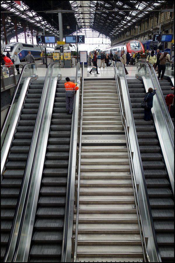 Périple hors Normandie : Direction Marseille #1, Paris Gare de Lyon