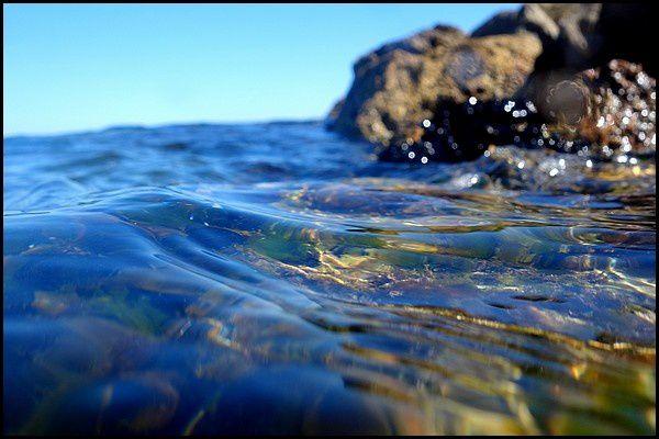 Escapade : la plage de Sète au dessus et sous l'eau...