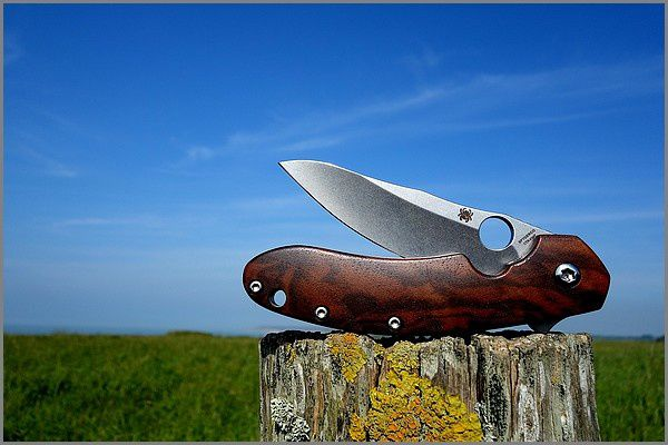 Spyderco Brad Southard : customisation Gérard Masse