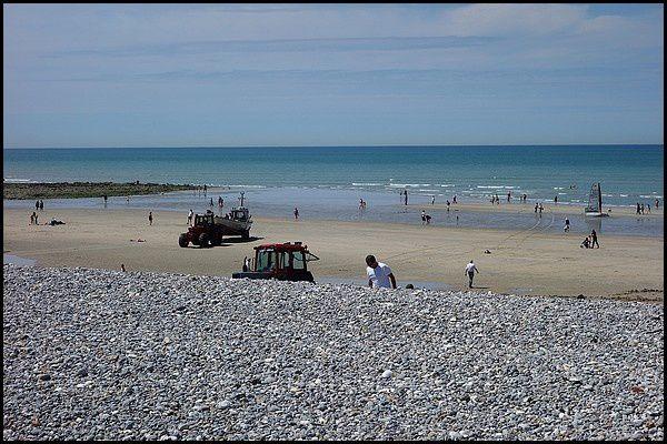 Normandie, Pays de Caux : Quiberville sur Mer
