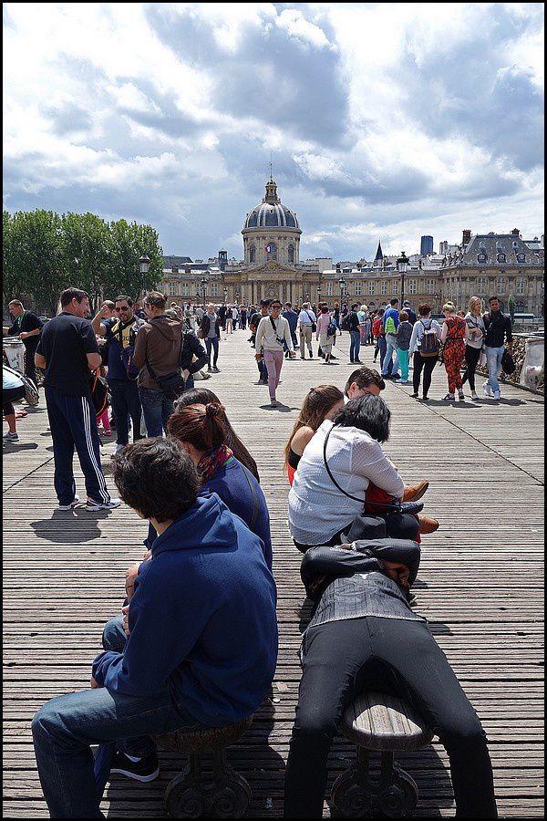 Paris : le Pont des Arts