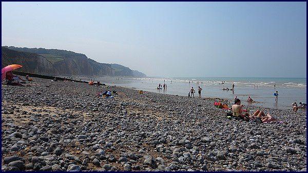 Normandie, Pays de Caux : Pourville sur Mer