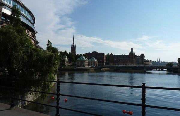Wolff : monuments de Stockholm et Palais Royal