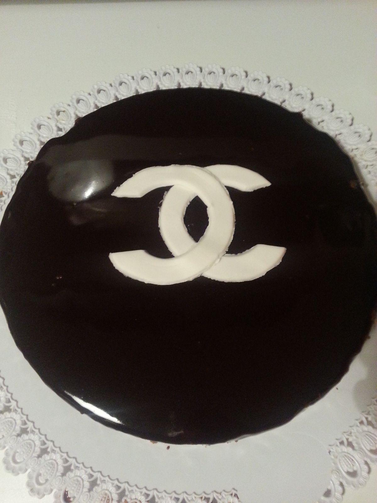 Bavarois mousse chocolat, biscuit spéculoos &quot&#x3B;Chanel&quot&#x3B;