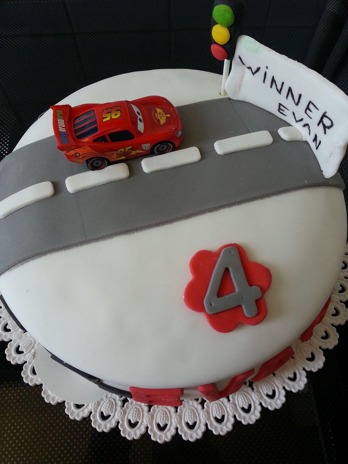 Gâteau &quot&#x3B;Car's&quot&#x3B;