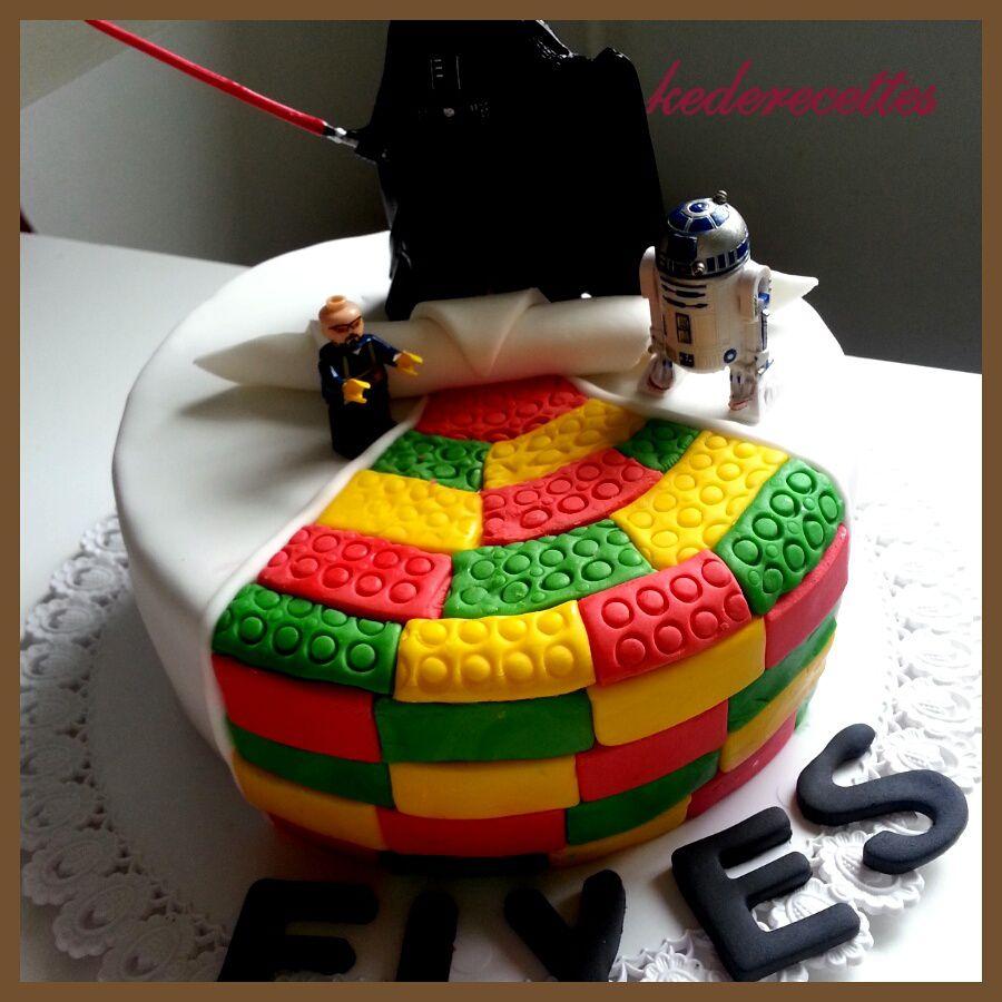 Gâteau Lego &quot&#x3B;Star Wars&quot&#x3B;