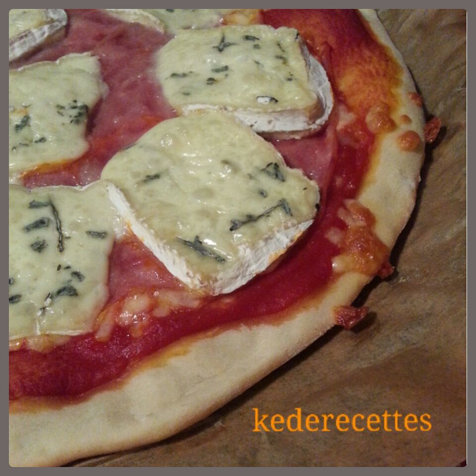Pizza au Bresse Bleu