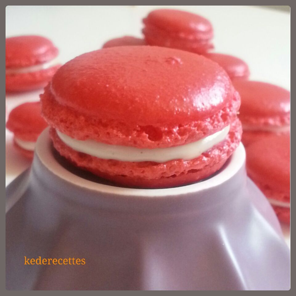 Macaron chocolat blanc, coco