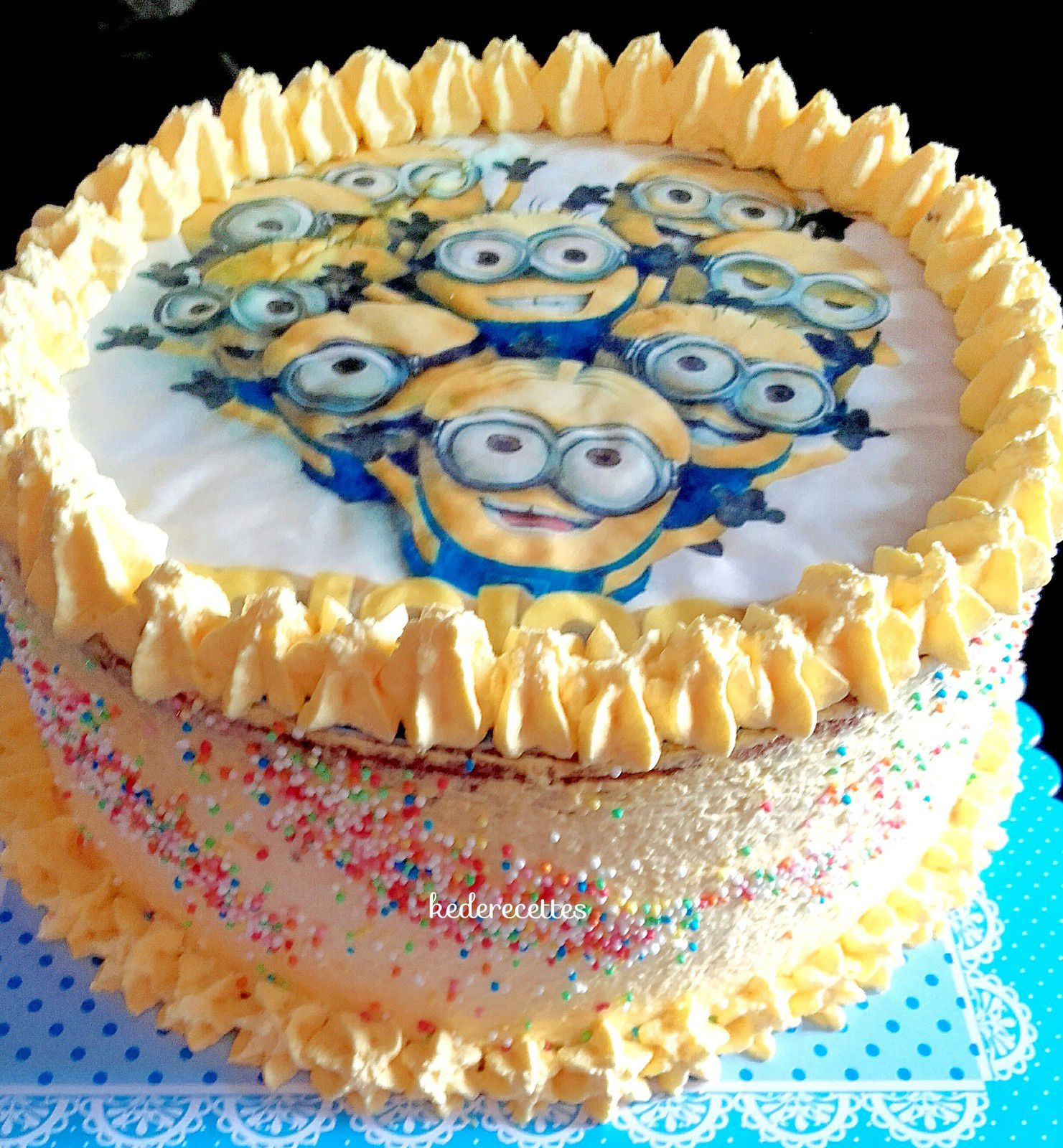 Layer Cake Minion