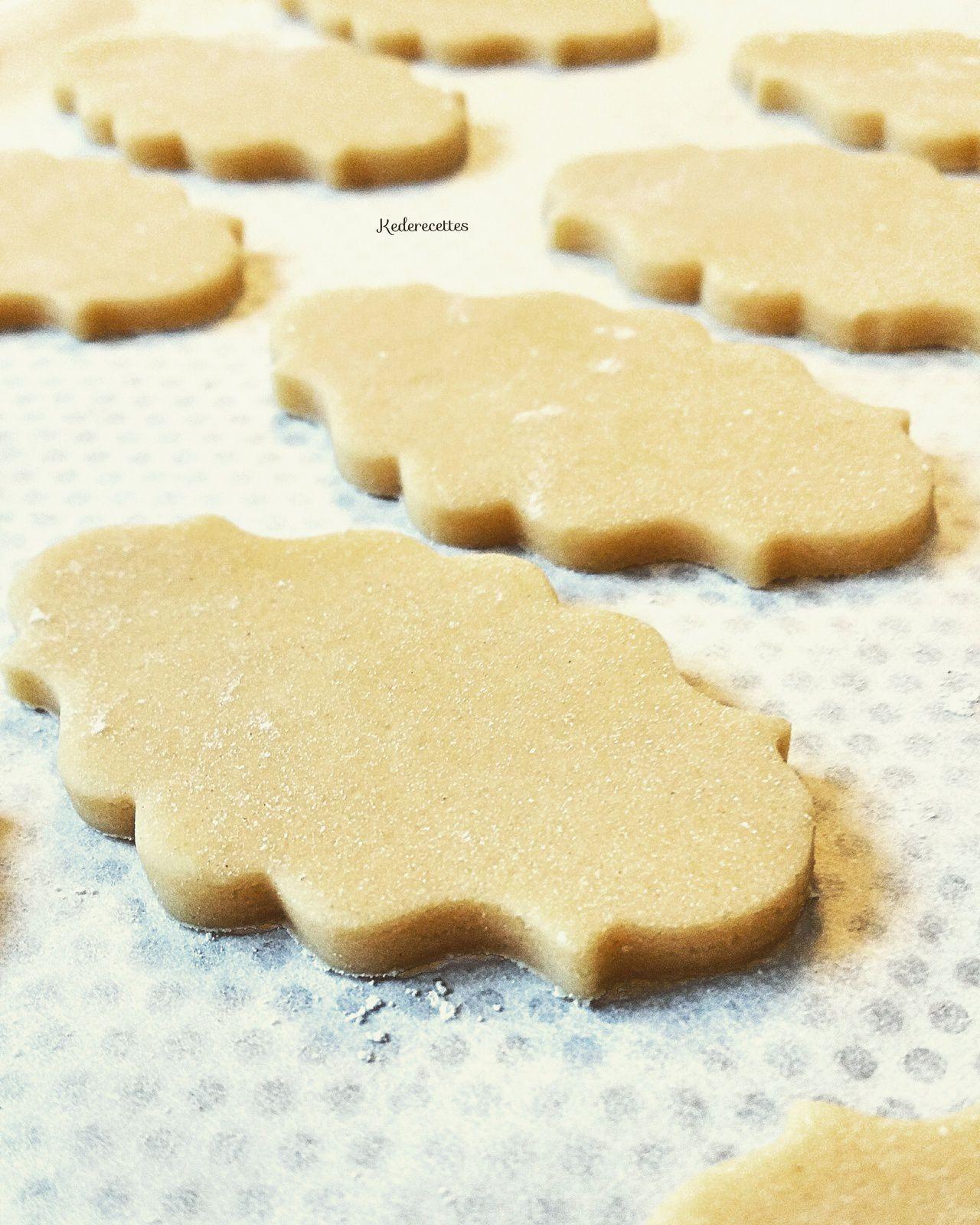 Pâte Facile pour biscuits sablés vanillé