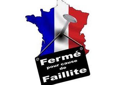La faillite de la France se profile