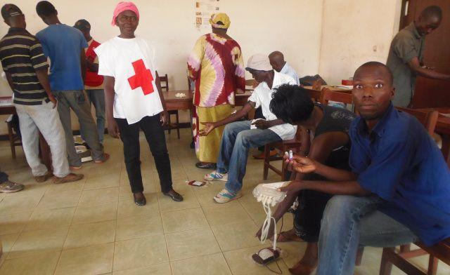 Bangui : Une campagne de don de sang est organisée par la CRCA
