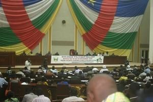 Centrafrique : session extraordinaire du Conseil national de transition