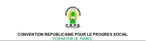 NOUVEAU BUREAU FEDERAL CRPS France-Europe-Asie