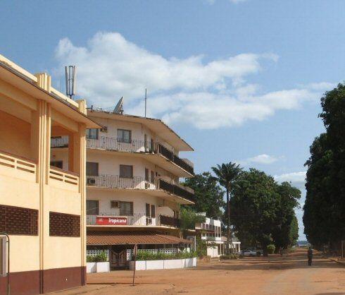 Panique au centre ville de Bangui