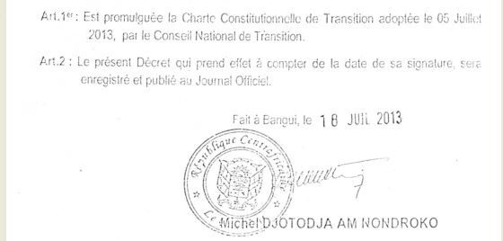 Texte intégral de la Charte de la Transition (bonne version)