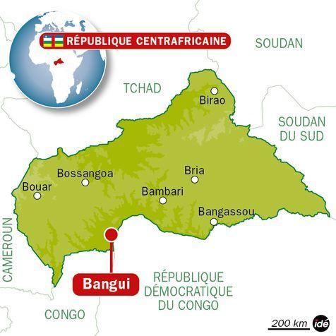 Centrafrique : Les populations du Nord-Ouest centrafricain fuient les violences