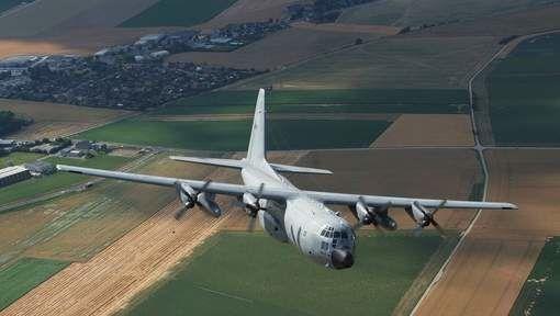 Premier vol pour le C-130 belge engagé en Centrafrique