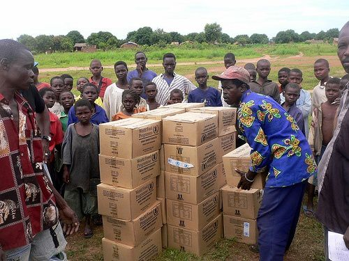 Centrafrique. l'aide alimentaire arrive enfin dans les campagne