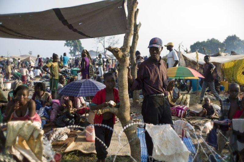 Les déplacés internes de Bangui regagnent progressivement leurs domiciles