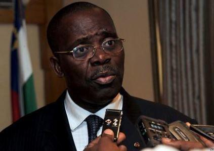 Le 1er ministre centrafricain dit merci au Gabon