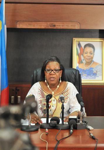 Centrafrique : la nouvelle présidente dresse un premier bilan