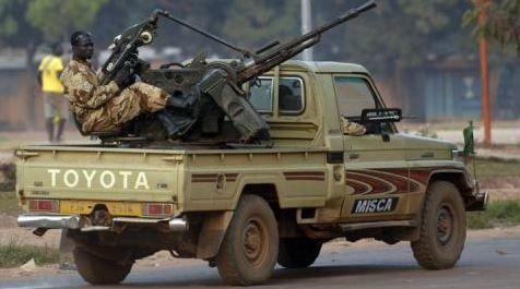 Centrafrique : 3 morts dans des heurts à Bangui entre les soldats tchadiens de la MISCA et la population